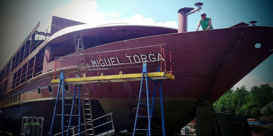 Le chantier naval de Beez veut déménager à Seilles