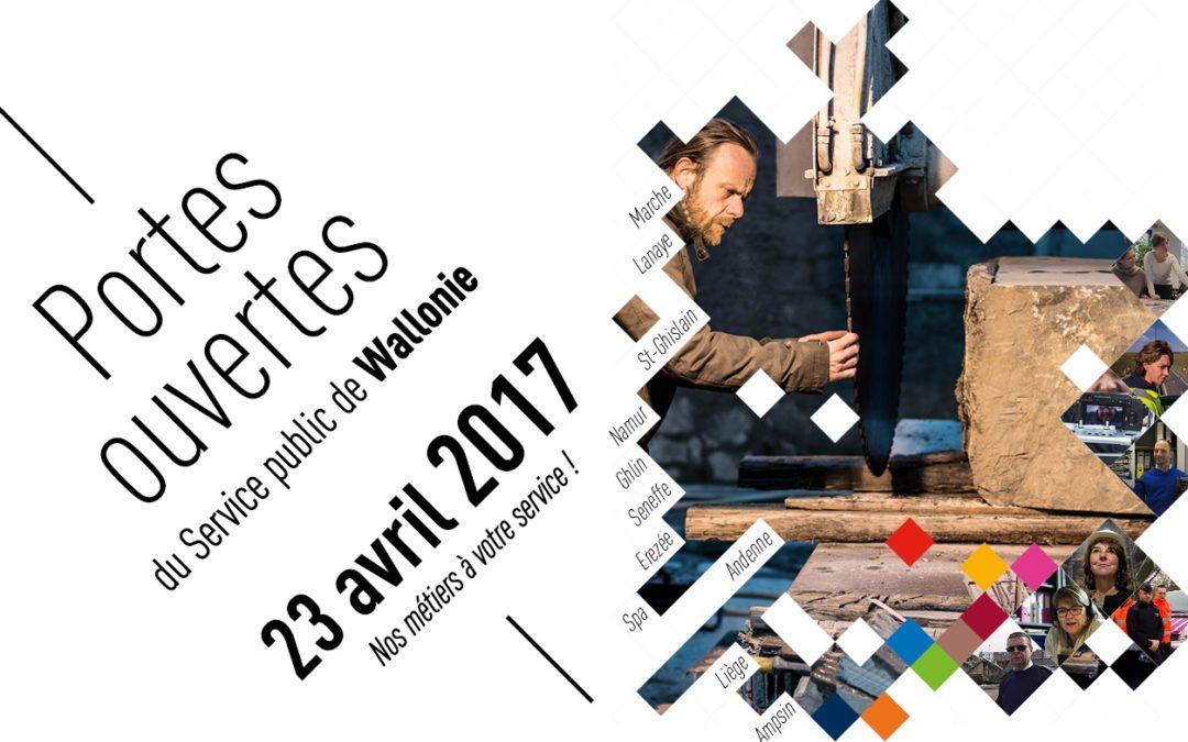 Journée Portes ouvertes du Service public de Wallonie