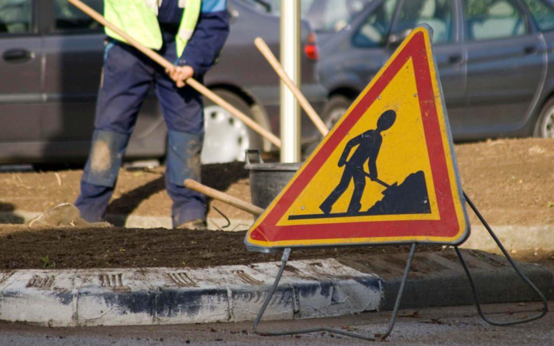 Travaux d'aménagement  au carrefour de la N80 et de la N643 à Bierwart (FERNELMONT)