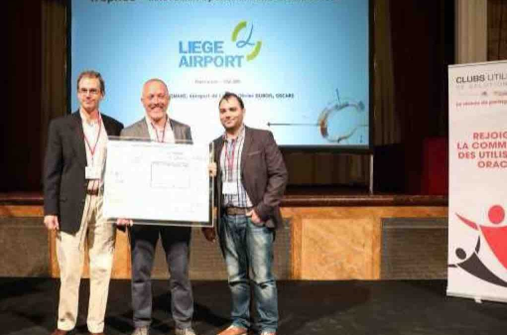 Prix international Oracle pour l'Aéroport de Liège et Oscars