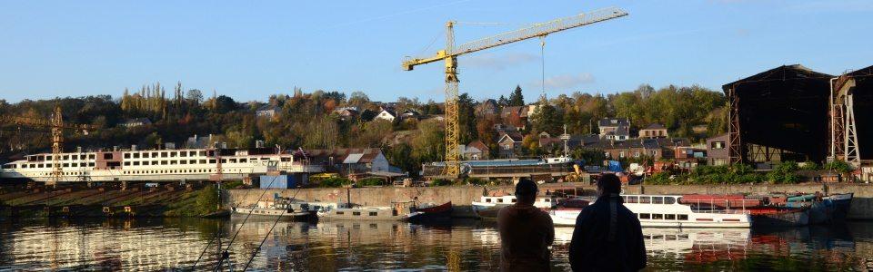Le chantier naval déménagera à Seilles fin 2018