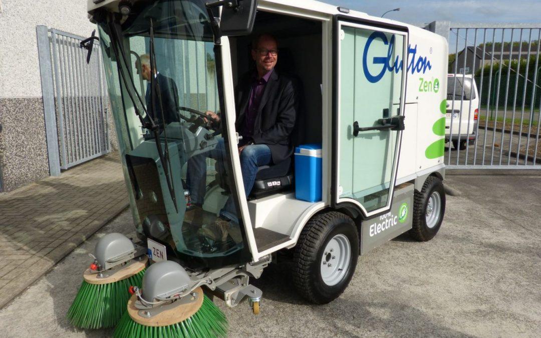 Visite de l'entreprise Glutton avec les mandataires de Chauny et de Bergheim