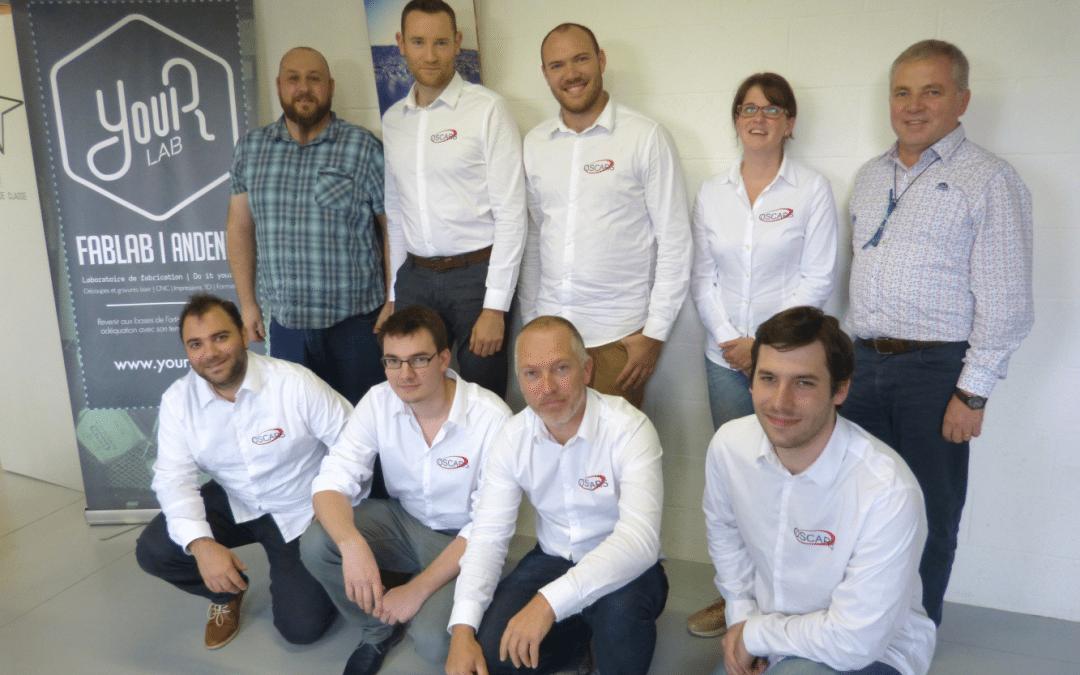L'entreprise Oscars en teambuilding au FabLab d'Andenne (photos)
