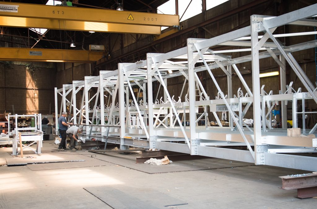 Les Ateliers Delbeque à Andenne recrute un dessinateur industriel en construction métallique (h/f)