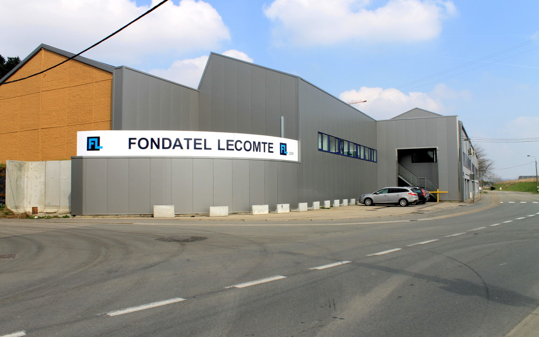 Fondatel Lecomte rénove sa façade