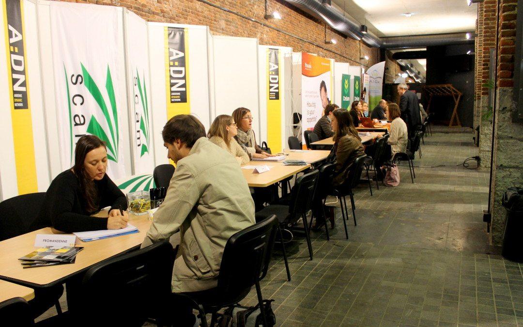 Andenne participe au JobDay Gembloux Agro-Bio Tech