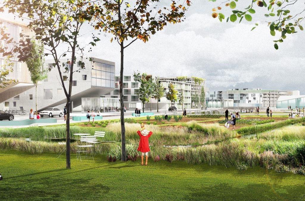 Un projet d'agriculture urbaine à Andenne
