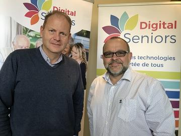 Digital Seniors : la nouvelle entreprise active dans l'informatique à Andenne