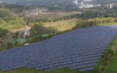 Carmeuse installe 13.200 panneaux photovoltaïques pour broyer de la pierre