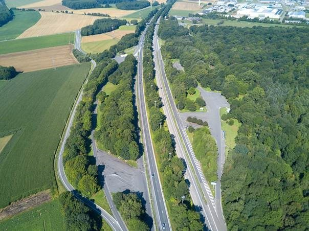 Chantier de l'E42 entre Andenne et Daussoulx : attention la circulation va changer