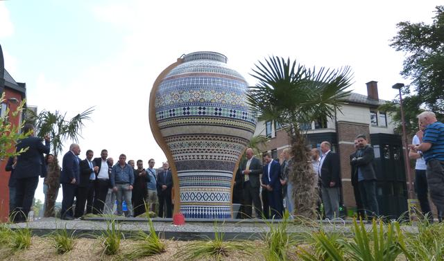 Inauguration du nouveau vase Avenue de Belle-Mine : qui, comment et pourquoi ?