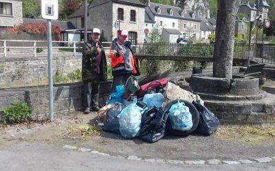 Opération Andenne Ma Ville Propre et Rivières propres – 26ème édition