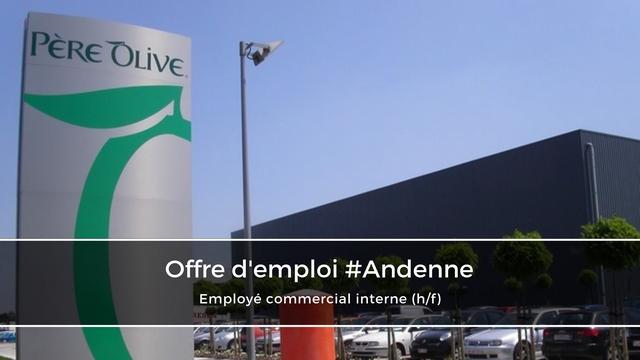 Employé commercial interne / Sales support (h/f) – Père Olive