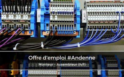 Monteur-Assembleur / Câbleur d'armoires électriques (h/f)