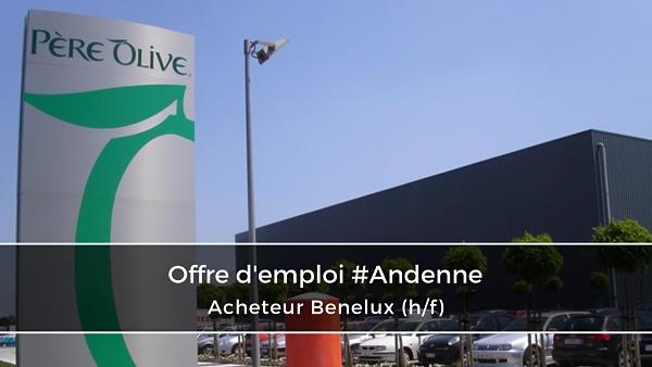 Acheteur Benelux (h/f) – Père Olive