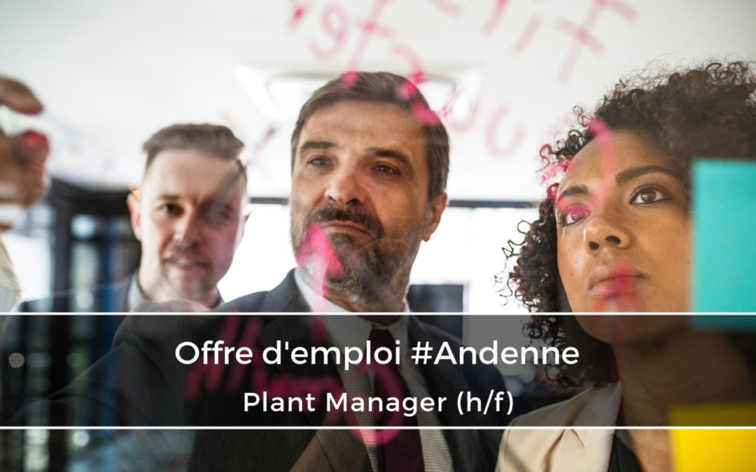 Plant Manager (h/f)