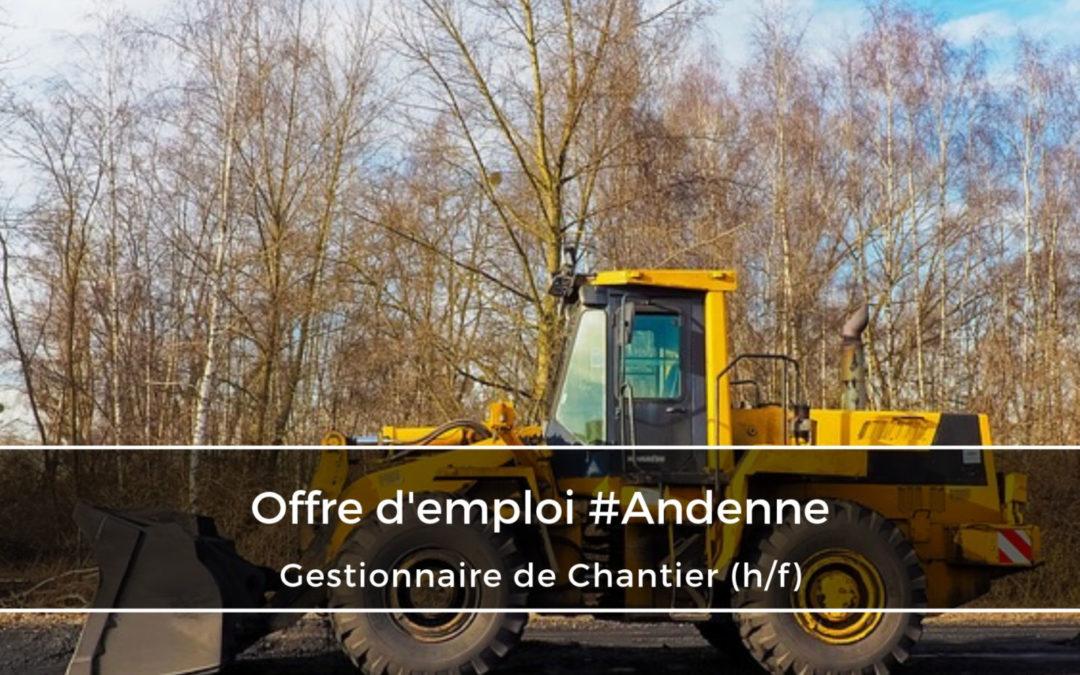 Gestionnaire de Chantier (h/f)