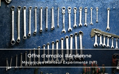 Mécanicien Monteur Expérimenté (h/f)