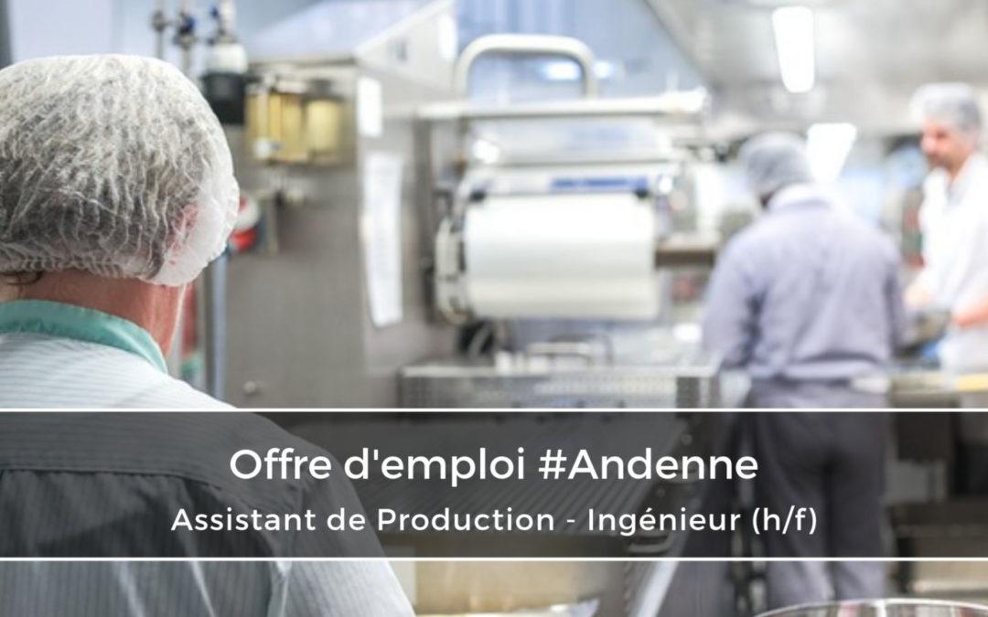 Assistant de Production AGROALIMENTAIRE – Ingénieur (h/f)