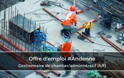 Gestionnaire de chantier/administratif  (h/f)