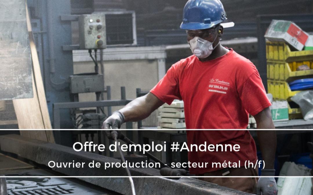Ouvrier de production secteur métallurgique (h/f)