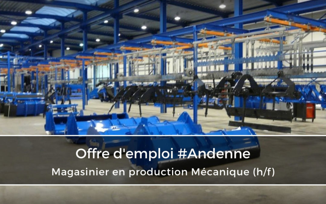 Magasinier en production Mécanique (H/F)