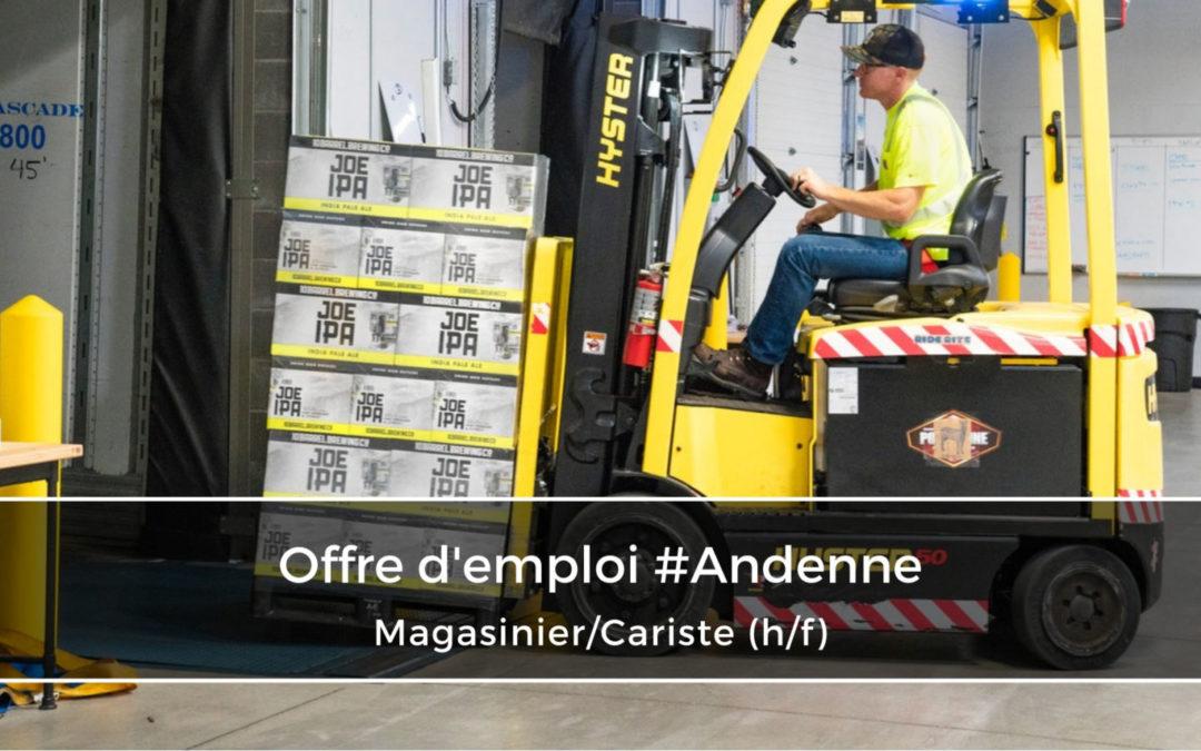 Magasinier/Cariste breveté (h/f)