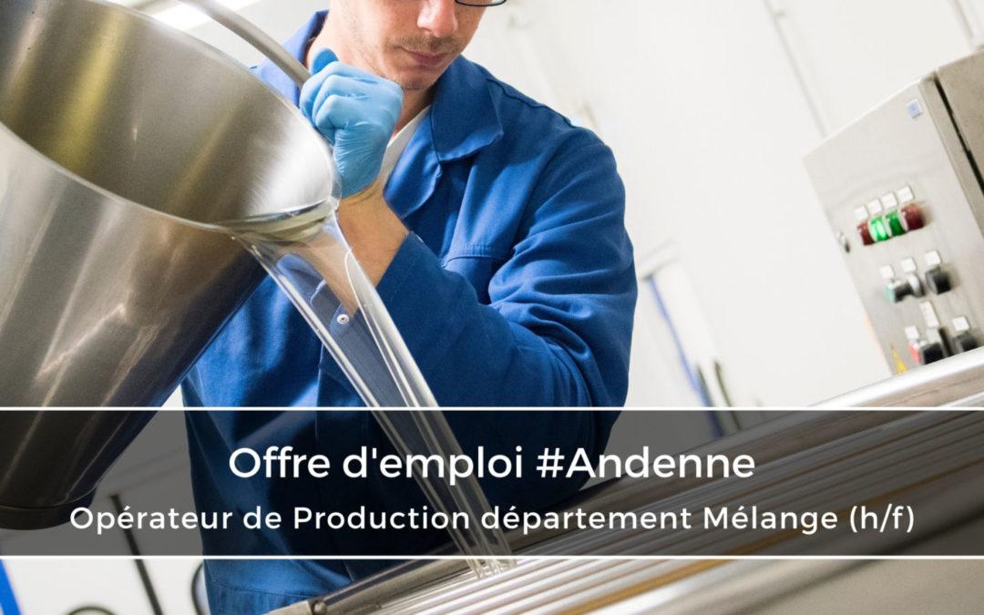 Opérateur de Production département Mélange (h/f)