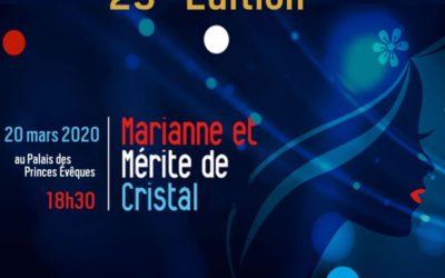 25ème édition de la Marianne de Cristal