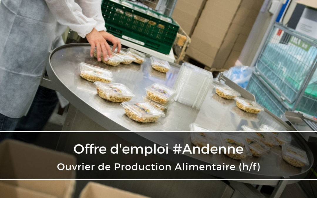 Ouvrier de Production Alimentaire (h/f)