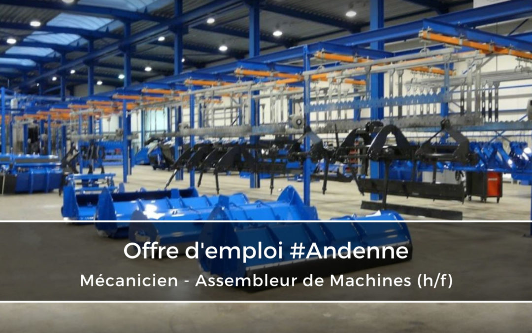 Mécanicien – Assembleur de Machines (h/f)