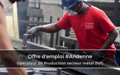 Opérateur de production secteur métal (h/f)