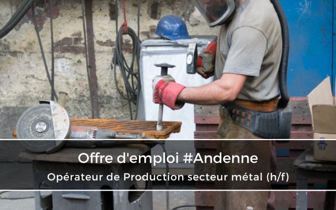 Opérateur de Production Chantier secteur métal (h/f)