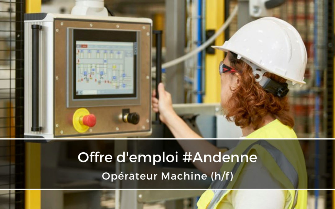 Opérateur Machine – Futur Team Leader (h/f)