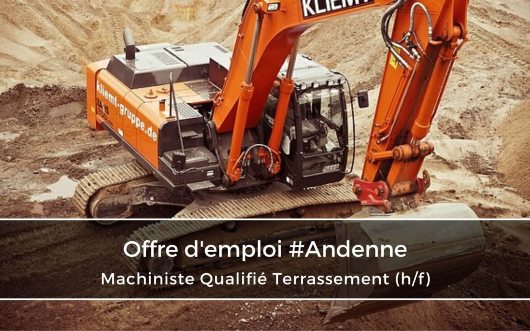 Machiniste Qualifié Terrassement (h/f)