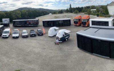 Choups, société spécialisée dans les stands modulaires et les véhicules roadshow