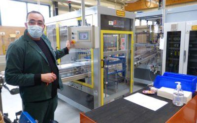 Des entreprises d'Andenne en visite au Centre de Forem Formation Dinant