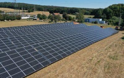 Les 1400 panneaux photovoltaïques de l'AIEG sont sortis de terre