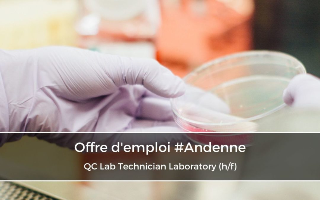 QC Lab Technician Microbiology (h/f)