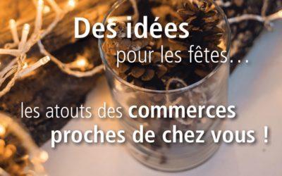 Des idées pour les fêtes tout en soutenant les commerces andennais
