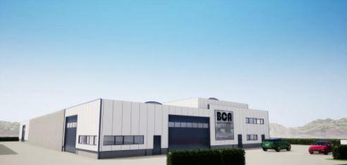 Locaux industriels à louer à Andenne – 1055m2 – 4750€/mois