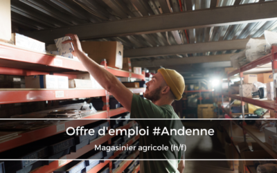 Magasinier agricole (h/f)