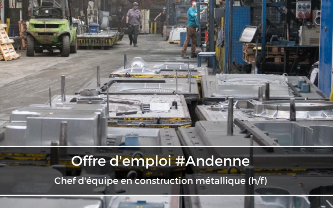 Chef d'équipe en construction métallique (h/f)