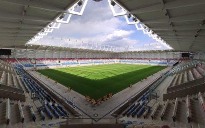Le nouveau stade national du Luxembourg et le bâtiment des sports protégés par Grenson & Fils