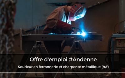 Soudeur en ferronnerie et charpente métallique (h/f)