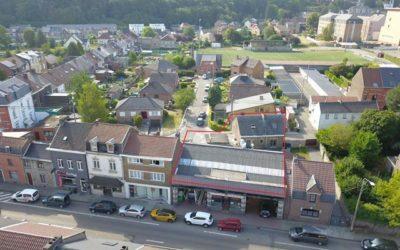 Locaux industriels à vendre à Andenne – 525m2 – Faire offre à partir de 399.000€
