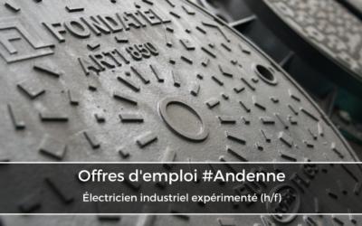Électricien industriel expérimenté (h/f)