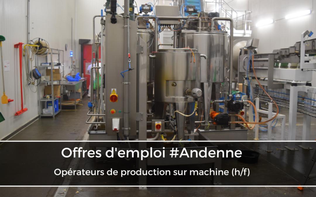 Opérateurs de production sur machine (h/f)