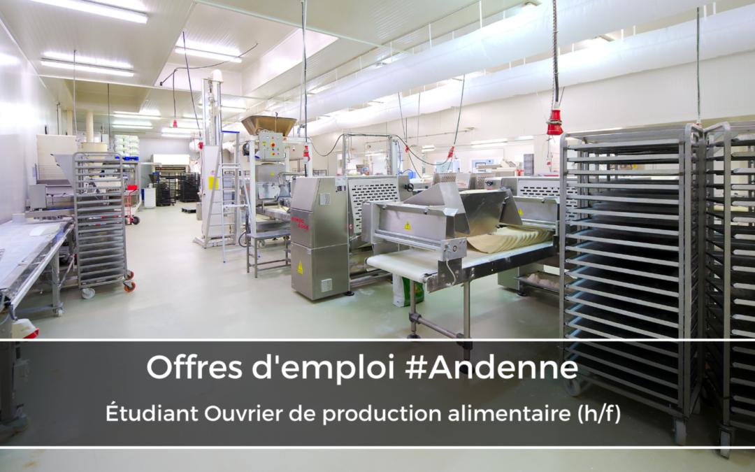 ETUDIANT Ouvrier de production alimentaire (h/f)