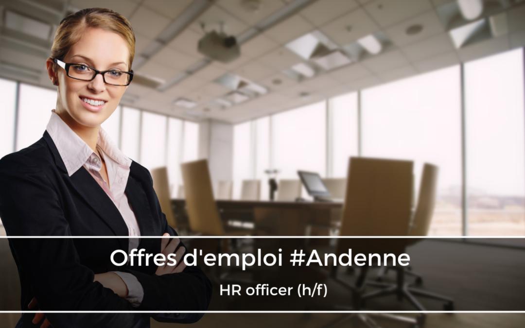 HR officer (h/f)